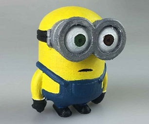 Making the Minion Character in Selfcad