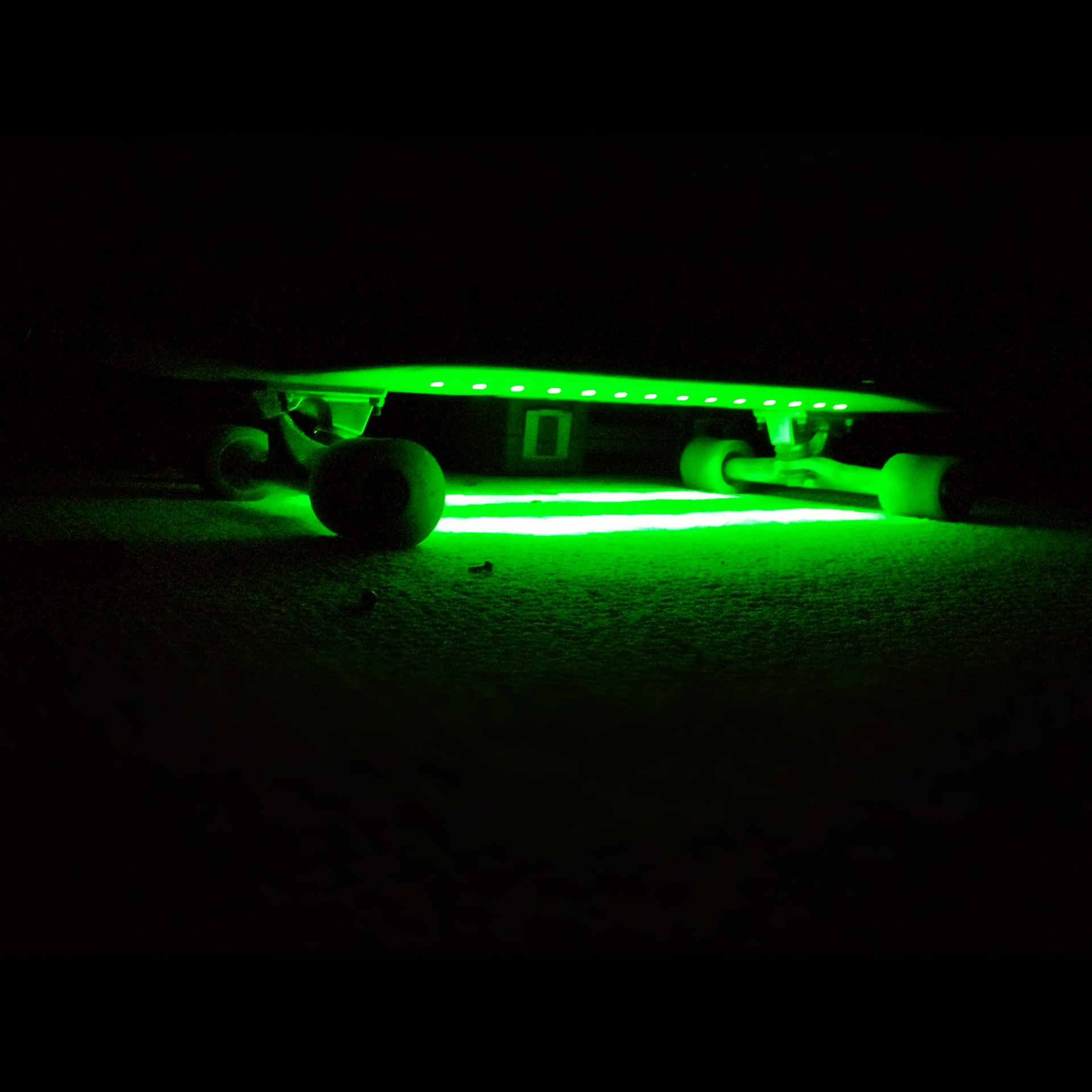 LED Longboard Under-glow