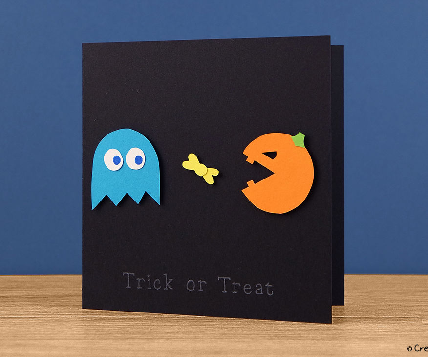 Halloween Pac-Man Card Tutorial