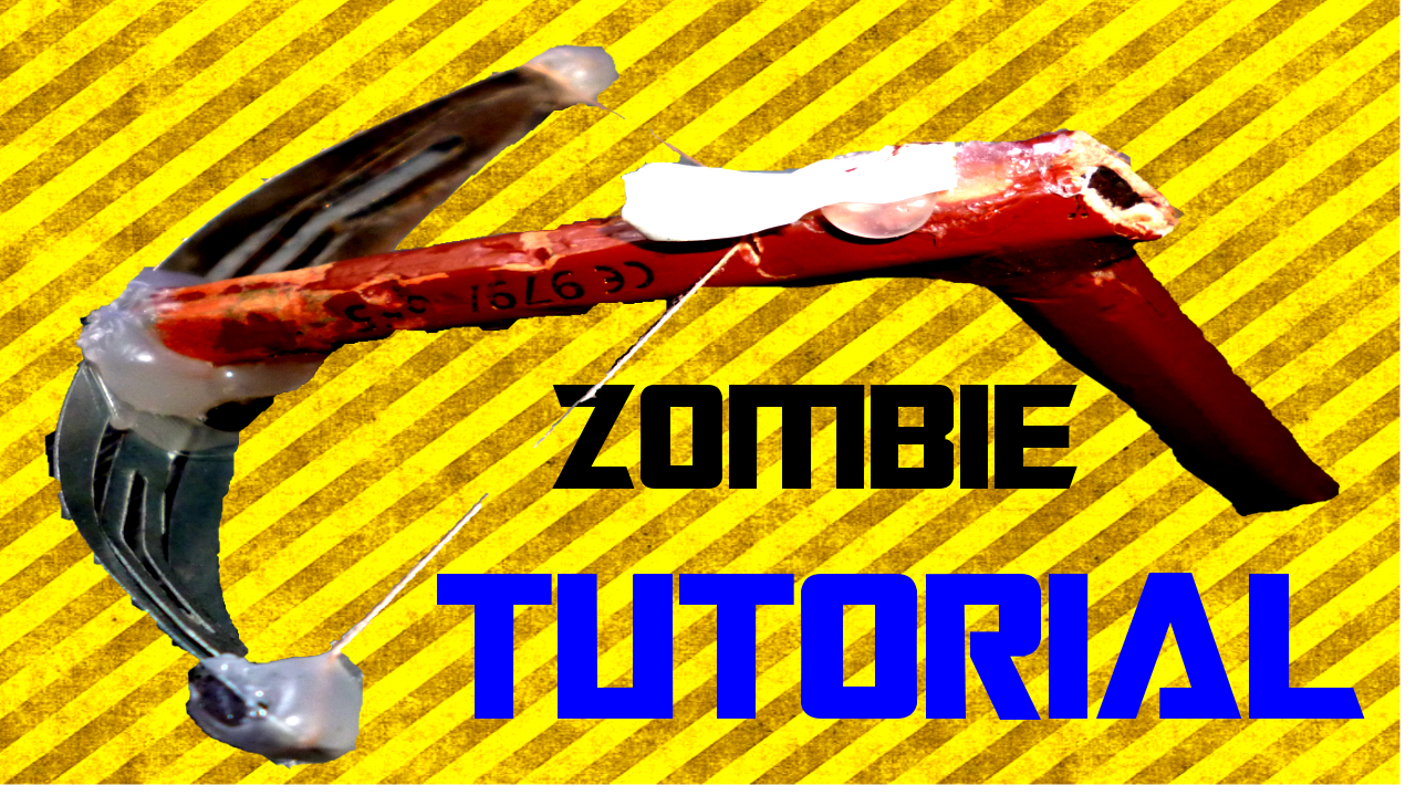 How to Make a Mini Crossbow for the Zombie Apocalypse!