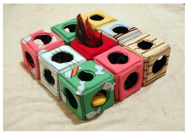 Stimulate Your Cat With the KittyLand Puzzle Center
