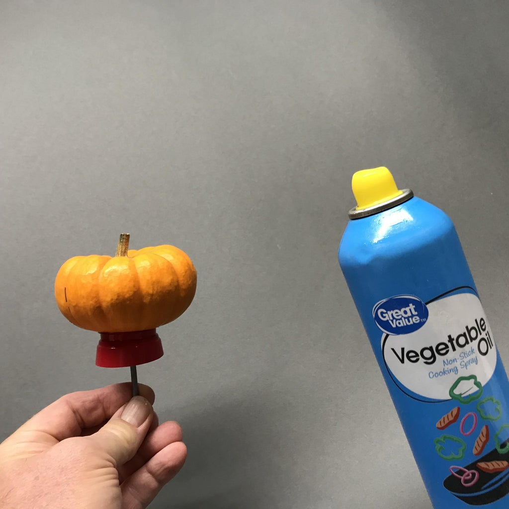Prepare the Pumpkin for Molding