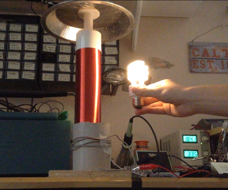Illuminate Lightbulbs Wirelessly: DIY Slayer Exciter