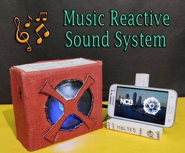 DIY    Speaker With Music Reactive Lights
