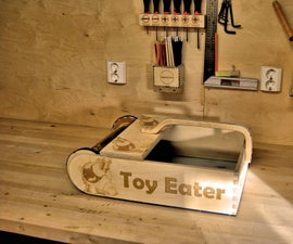 Toy Eater (Plywood Scrap Eater)