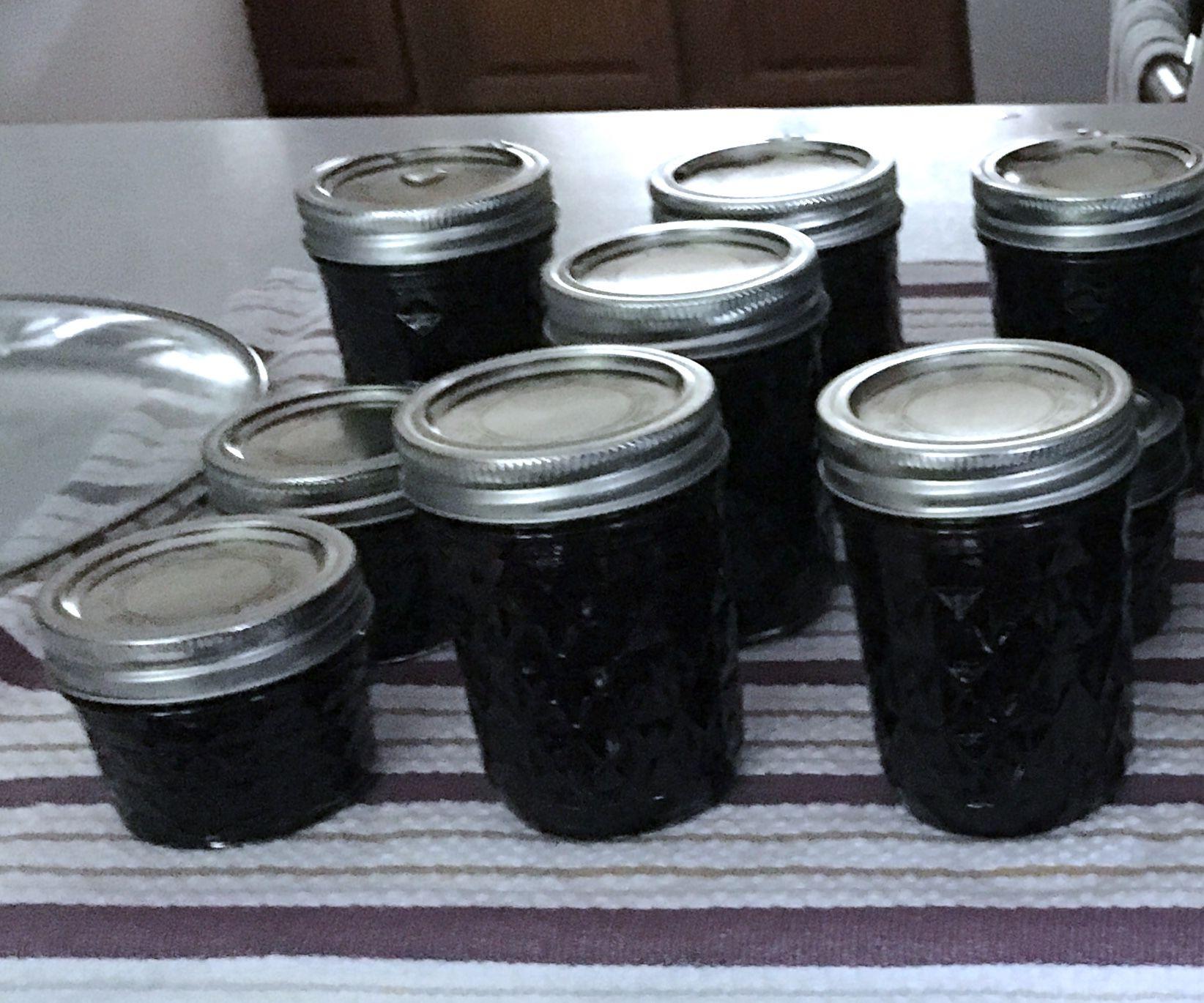 Low Sugar Blueberry Lime Jam