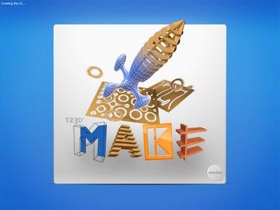 Free Programs : 123D Make