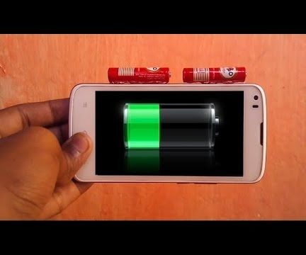 How to Make Universal Mobile Battery Charger in 5 Minutes