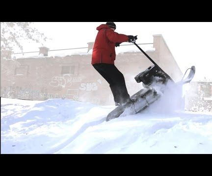 Homemade Snowmobile