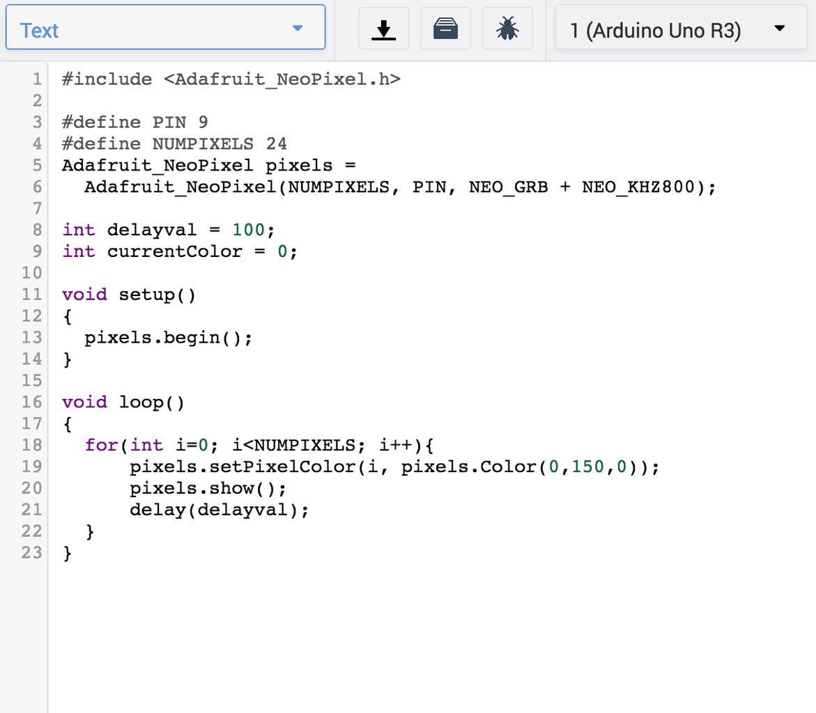 Writing the Code: Ramping Up to Rainbow