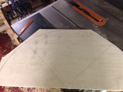 Laying Out and Glueing Up Your Table Top