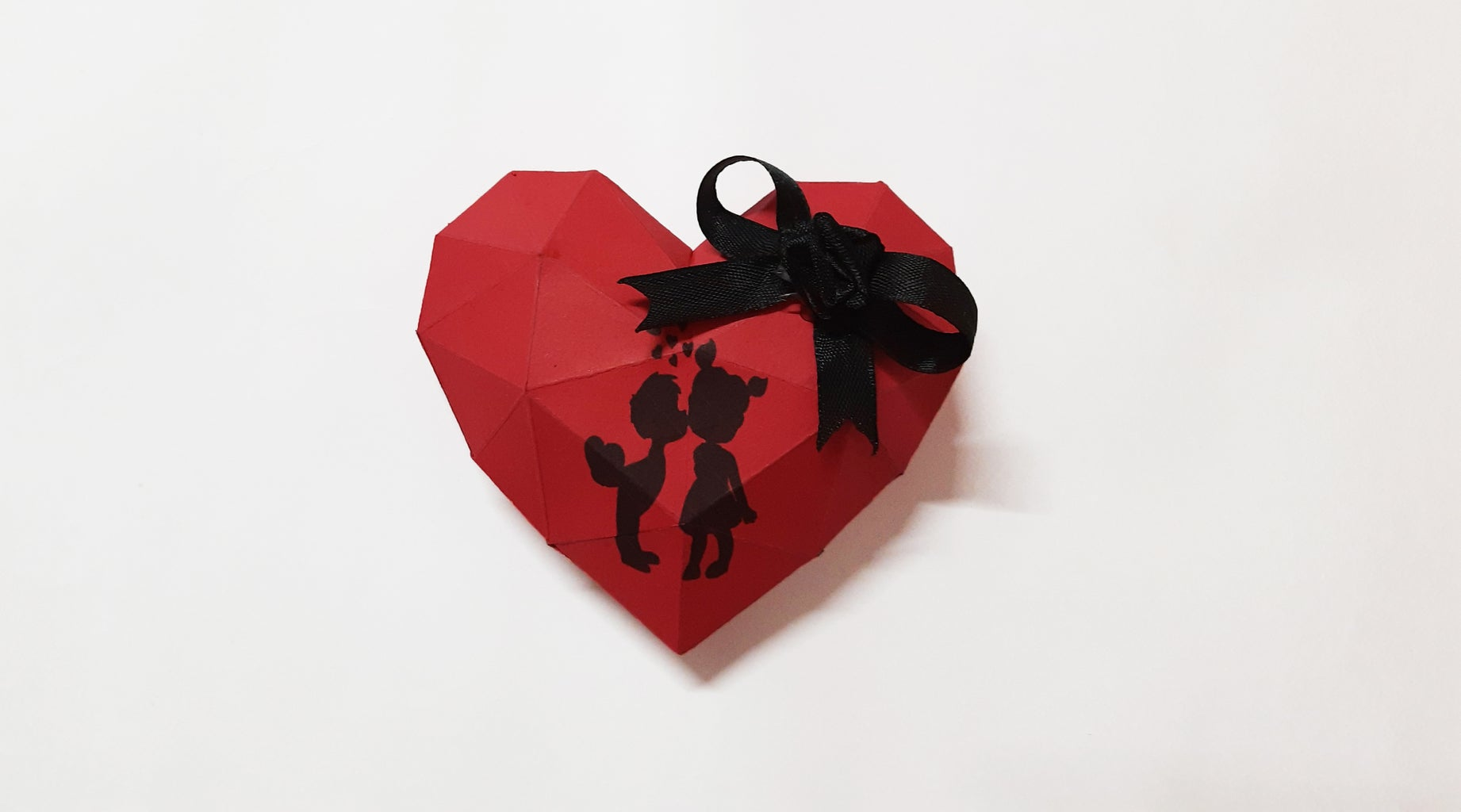 Origami 3D Beating Heart