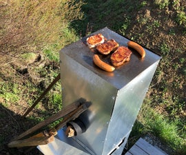 Cook (rocket) Stove