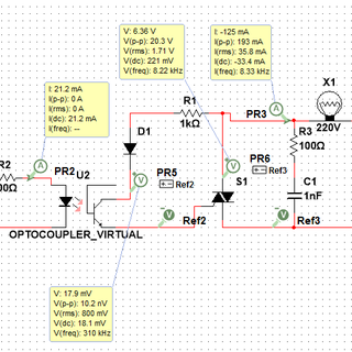 Simple Low Voltage AC Switching  With a Microcontroller
