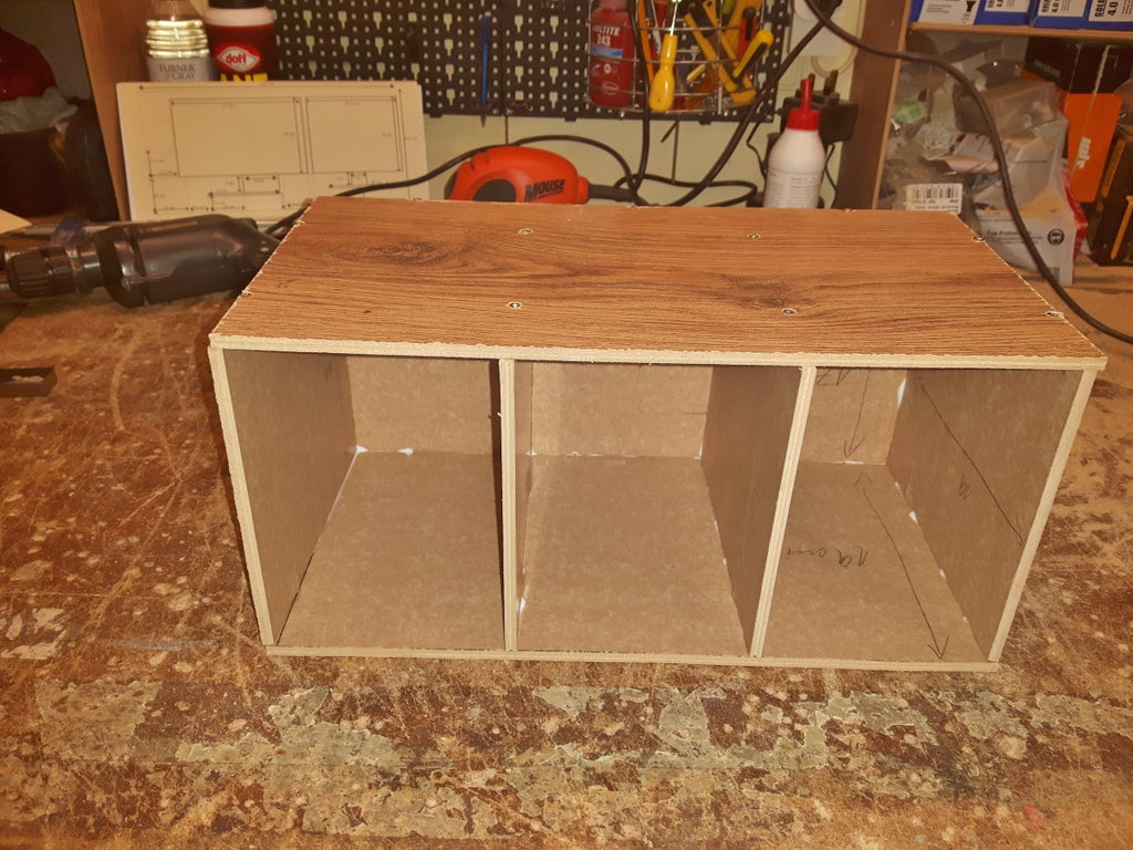 Spare Laminate Flooring, Using Laminate Flooring For Shelves
