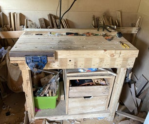 Making a Workbench From Pallets