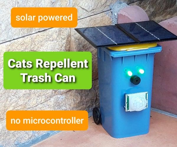 Cats Repellent Trash Can