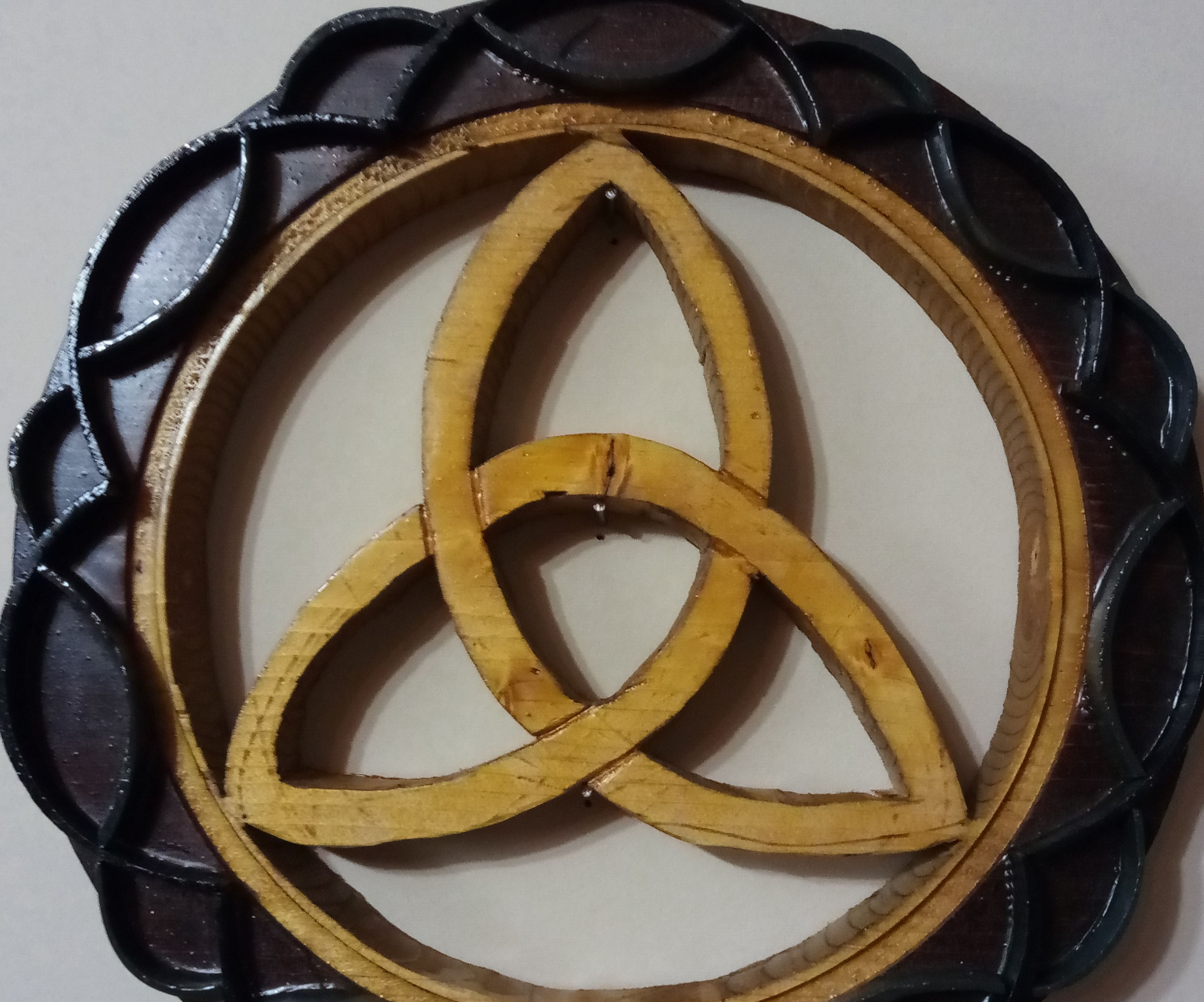 Celtic Knot With Trinity Symbol