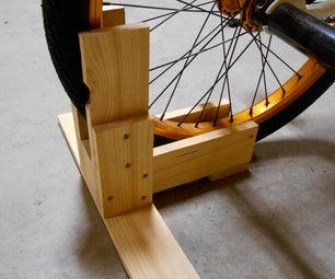 Make a Custom Bike Stand