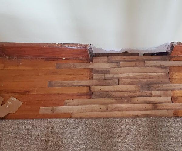 Repair Hard Wood Floor.