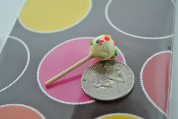 miniature cake pop