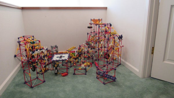 K'nex Ball Machine Impossible Elements