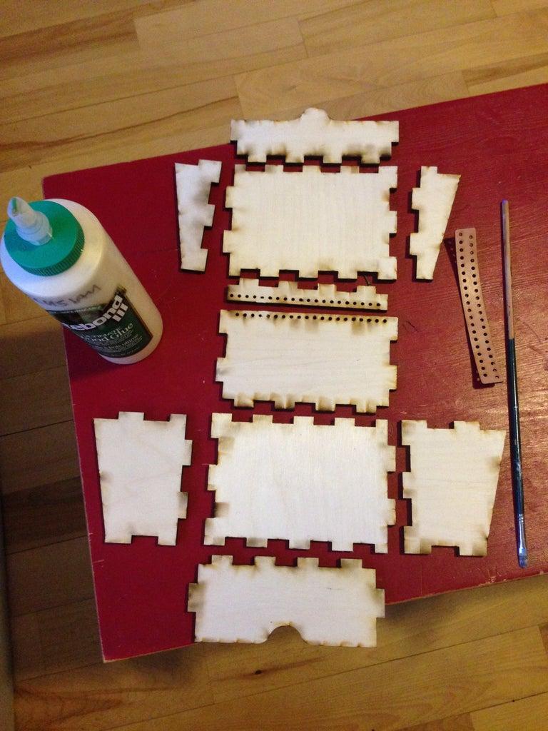 Cut, Assemble, Glue and Clamp