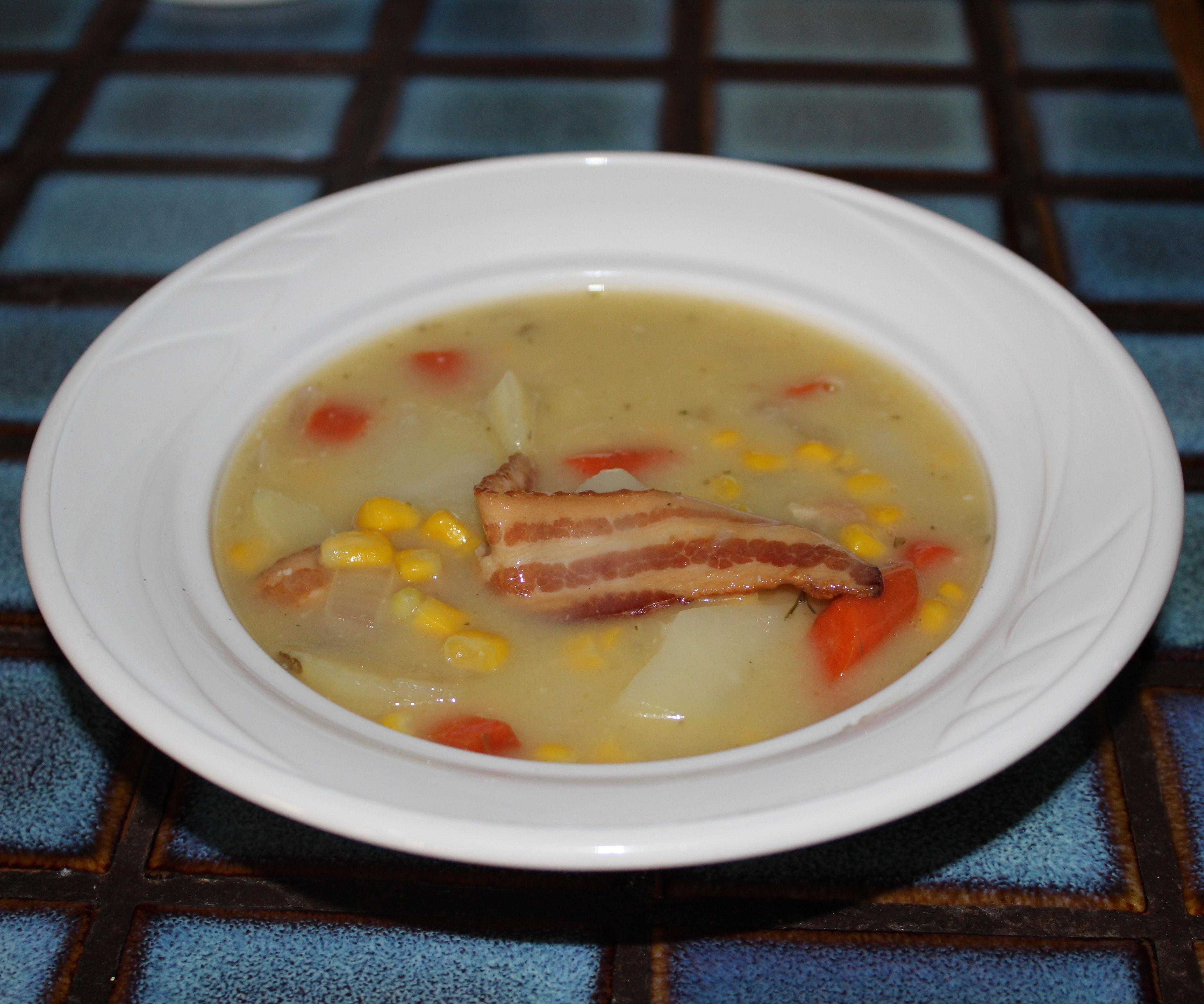 Potato Soup on a Winter Day!