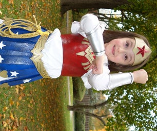 Make a Wonder Woman Costume WITH Your Child