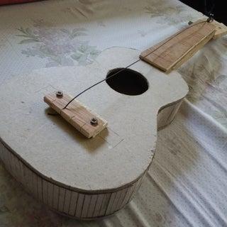 Playable Cardboard Ukulele...