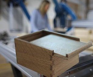 Making a Box Joint Keepsake Box on the CNC