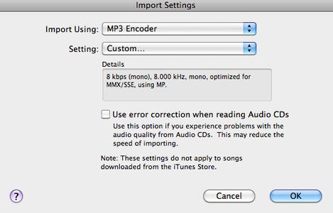 Prepare Audio Files