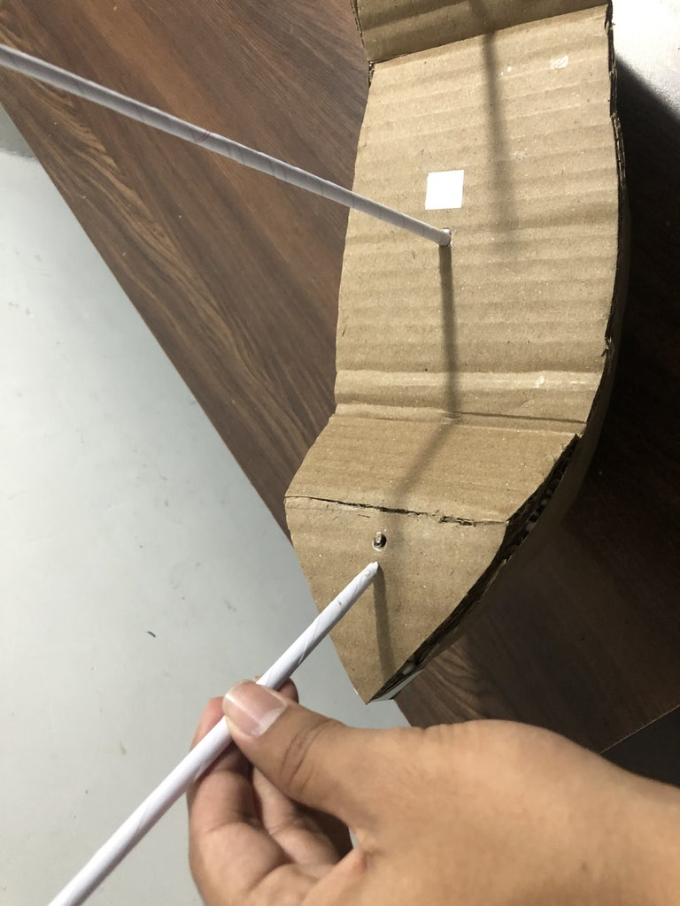 Making the Stick and Windsails