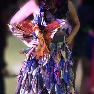 Sew a Newspaper Dress