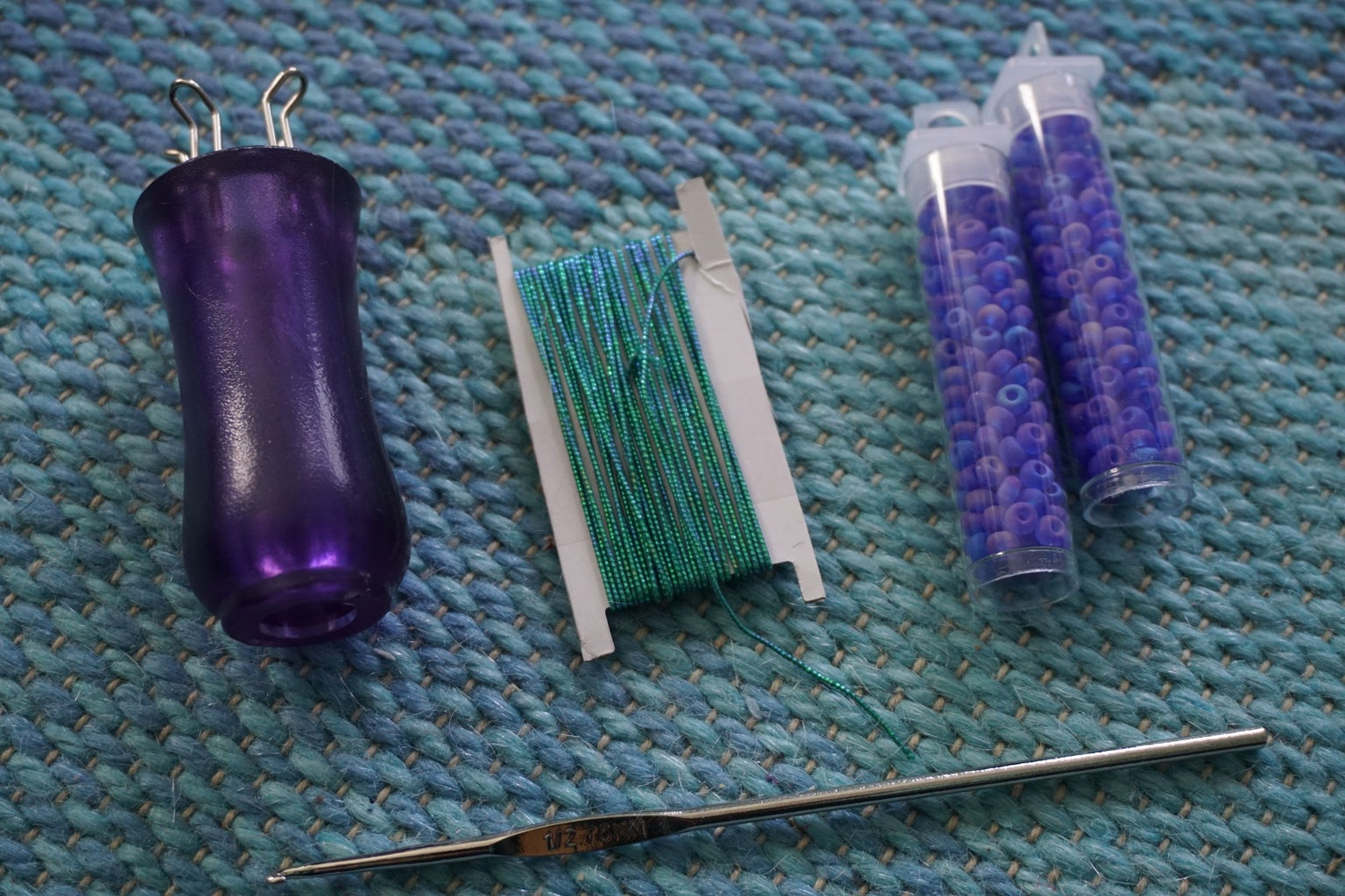 Spool Knit Bracelet