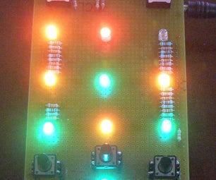 Electronic Tic-Tac-Toe With RGB LEDs