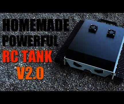 How to Build a DIY Powerful Metal Rc Robot Tank V2.0
