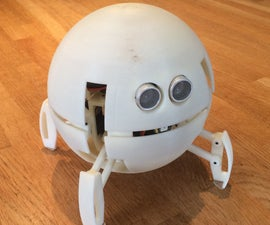Spherical Quadruped Arduino Robot