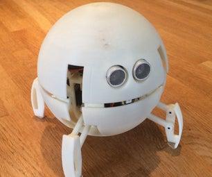球形四足arduino机器人