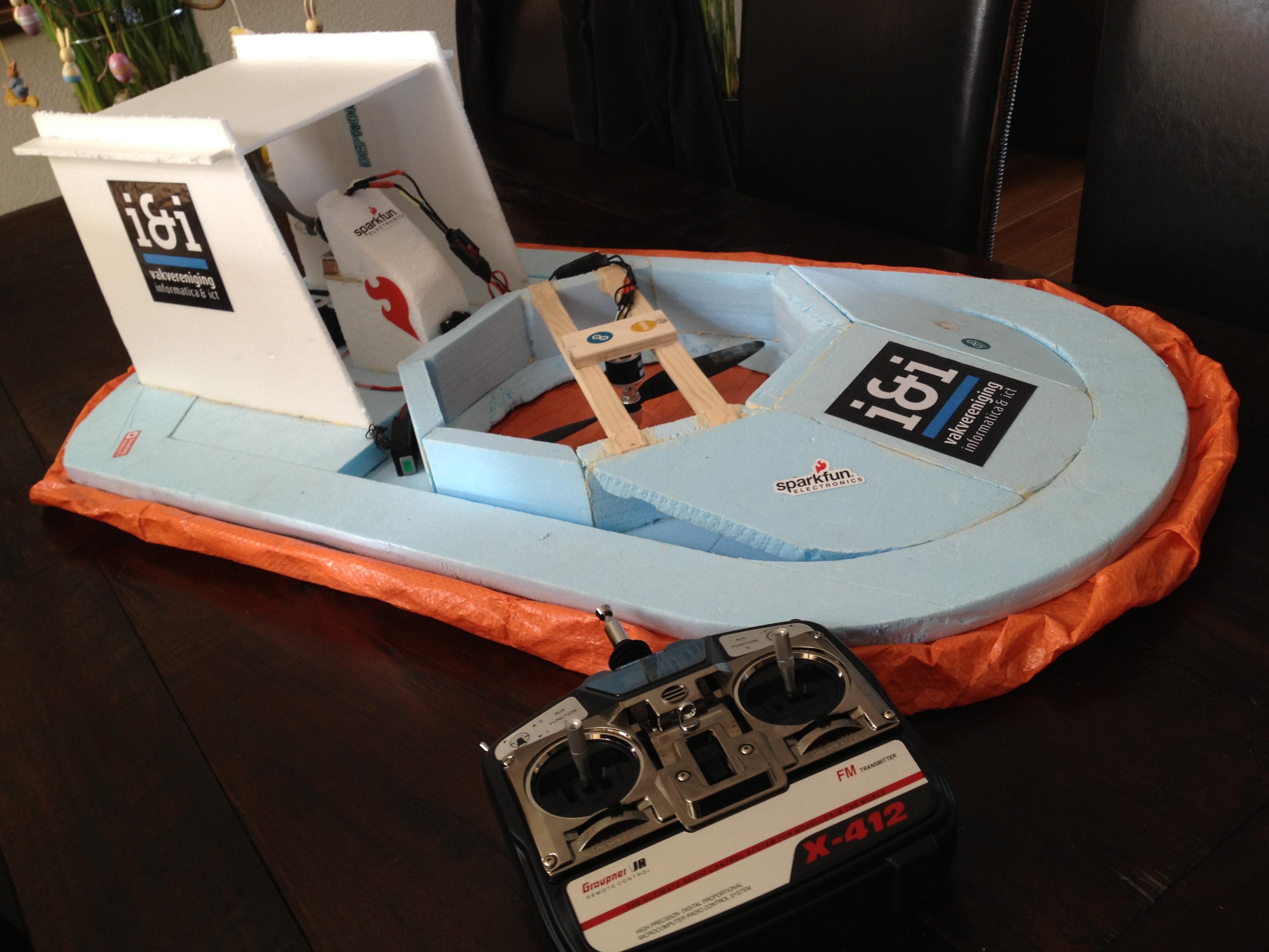 How to make a RC Hovercraft