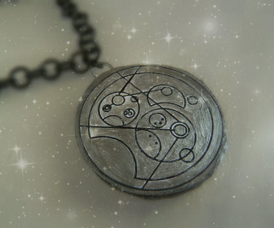 Gallifreyan pendants