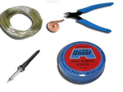 Collecting Materials for Soldering