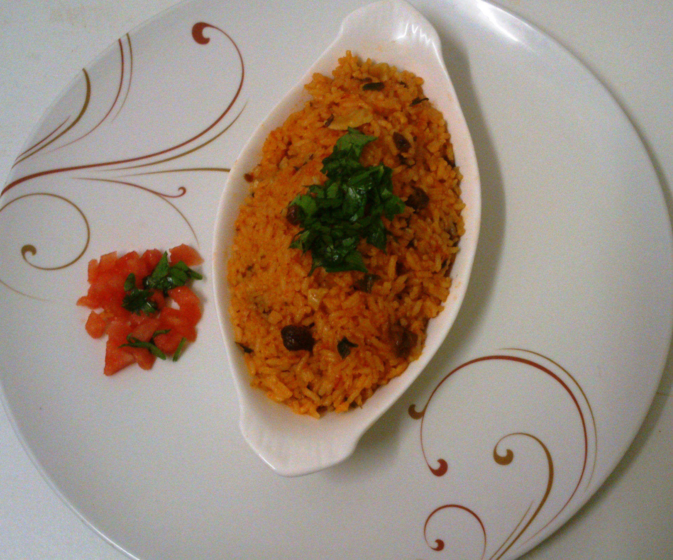 Melon chevril rice