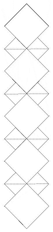 Make a diamond-paged book
