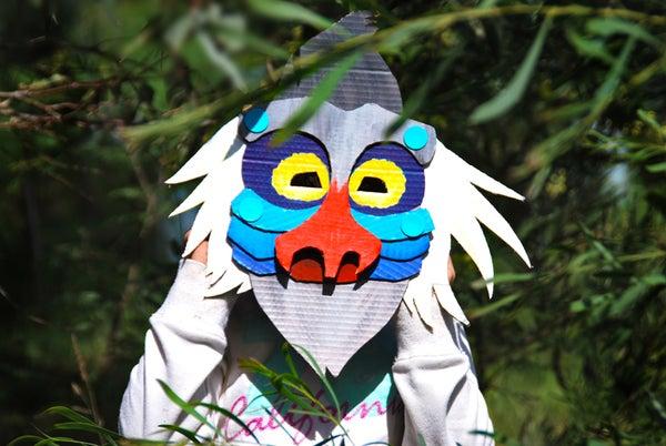 Makedo Baboon Mask