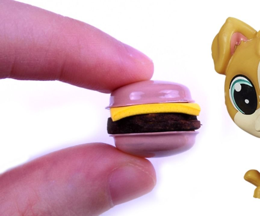 Diy Miniature Burger
