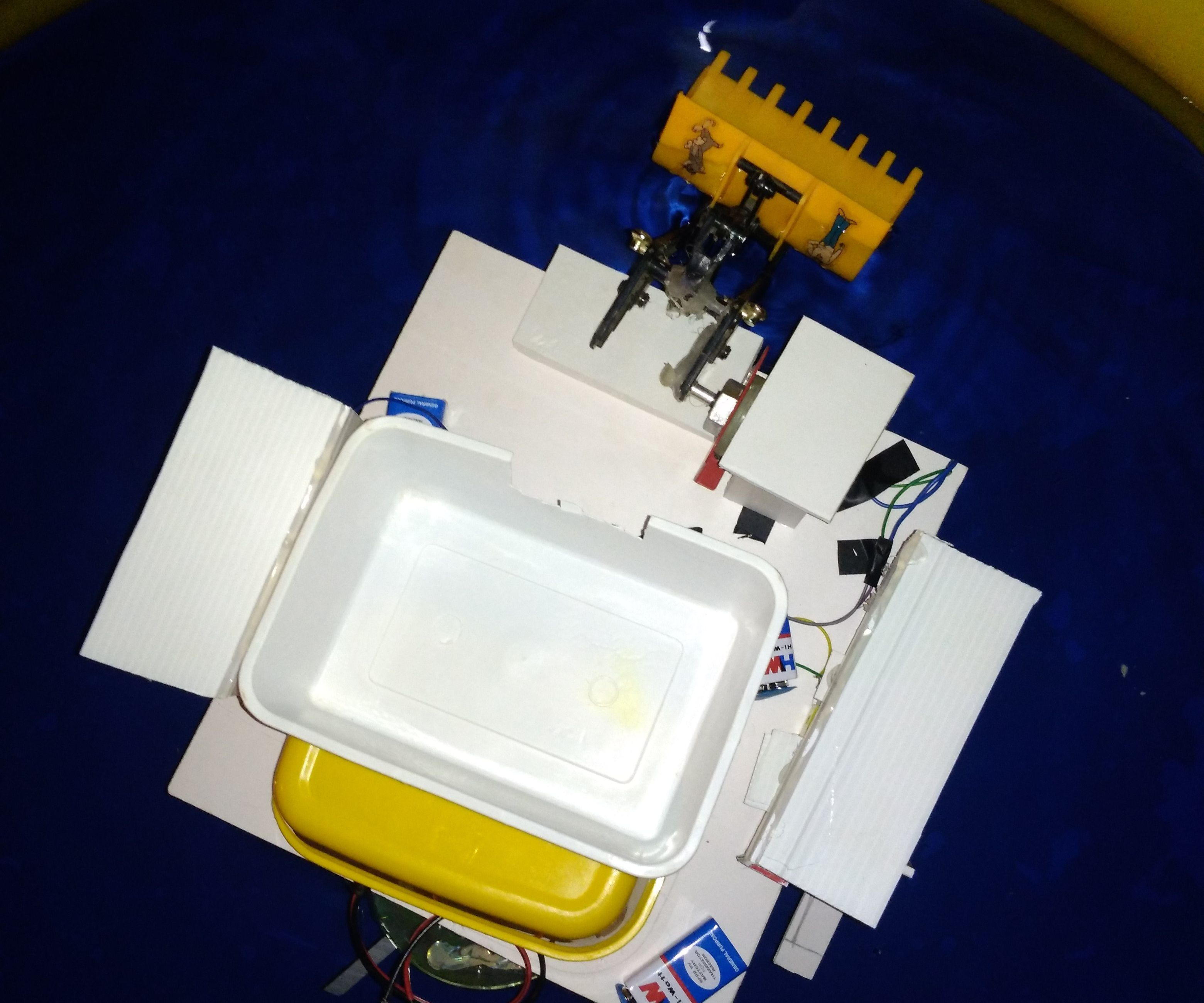 Wbc-bot(Water Body Cleaner - Bot)
