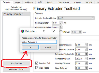 Create Virtual Extruder (only Once)