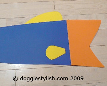 Making the Side Fins