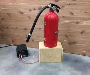 Fire Extinguisher Mini Fridge